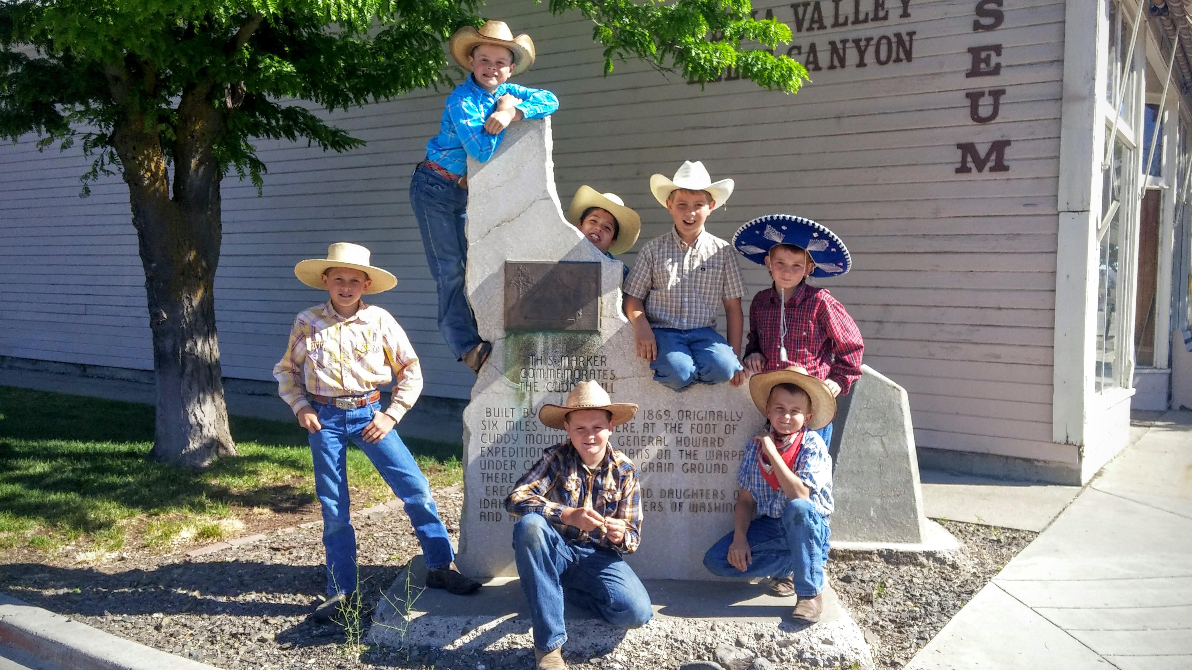 Idaho Boy Pioneers