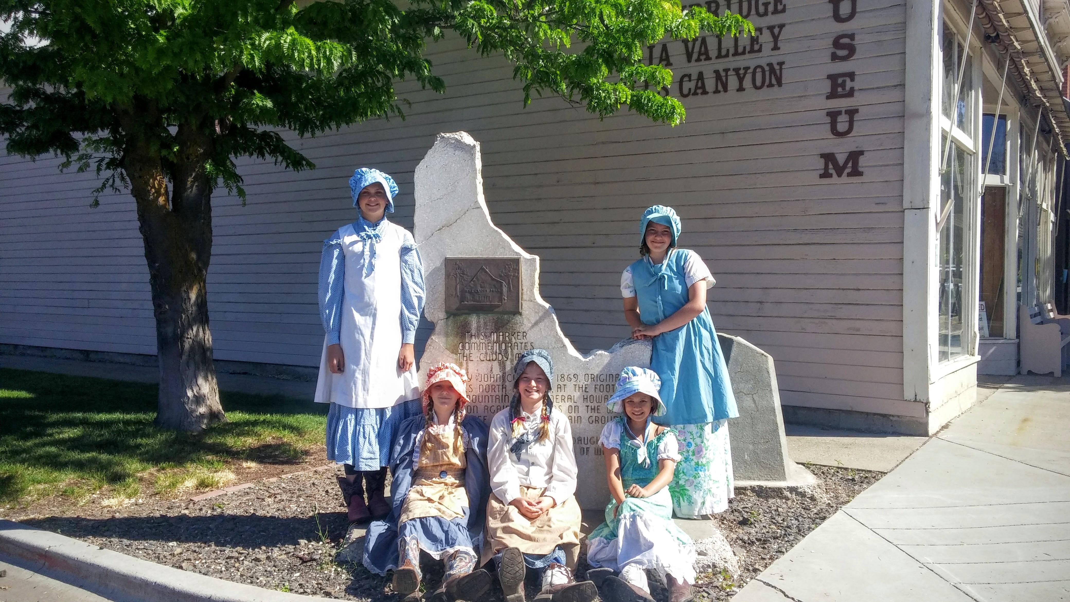 Idaho Girl Pioneers